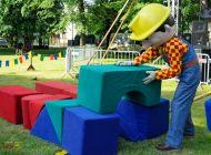 Akce pro děti - Obří stavebnice